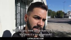 LatinLeche - Bearded Latin Guy Used On Camera