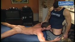 Massage Bait Buttfucked by Muscle Buddy