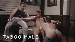 Taboomale - Three Hot Muscular Men Are Horny For Ass Licking & Anal Sex