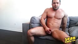 SeanCody - Muscular Dude Reese Jerking His Hard Cock Alone And Cums Twice