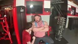 Jack Stacked Get Muscle Worshipped in the Gym!