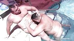 Two Hot Bears Flip Flop