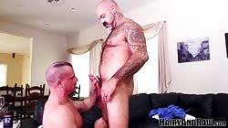 HAIRYANDRAW Bald Scotty Rage Raw Breeds Christian Mitchell