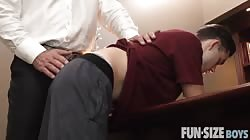 FunSizeBoys Tiny squirts huge load into sexy older man's mouth